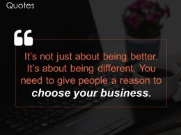 Quotes Sample Of Ppt Presentation