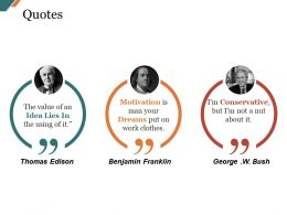 Quotes Sample Ppt Files