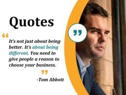 Quotes Sample Presentation Ppt