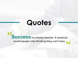 Quotes Success I476 Ppt Powerpoint Presentation Icon Professional