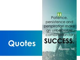 Quotes Success Management C317 Ppt Powerpoint Presentation Pictures Microsoft
