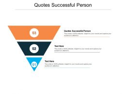 Quotes Successful Person Ppt Powerpoint Presentation Summary Microsoft Cpb