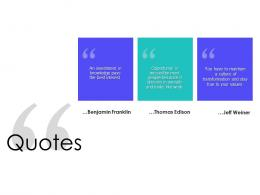 Quotes Supply Chain Management Solutions Ppt Ideas