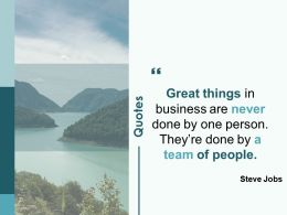 Quotes Team Of People Ppt Powerpoint Presentation Slides