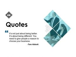 Quotes Thought H64 Ppt Powerpoint Presentation Portfolio Examples