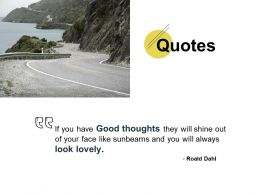 Quotes Thoughts Ppt Powerpoint Presentation Pictures Model