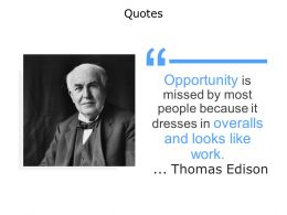 Quotes Work Opportunity F90 Ppt Powerpoint Presentation Outline Maker
