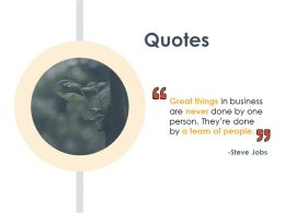 Quotes Working Capital Modeling 273 Ppt Powerpoint Presentation Template Styles