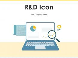 R And D Icon Business Investment Growth Innovative Analysis