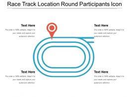 Race Track Location Round Participants Icon