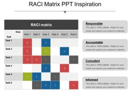 Raci Matrix Ppt Inspiration