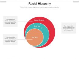 Racial Hierarchy Ppt Powerpoint Presentation Infographics Outfit Cpb