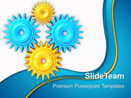 Rack And Pinion Gear Powerpoint Templates Gears Industrial Business Ppt Designs