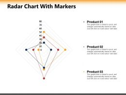 Radar Chart With Markers Ppt Powerpoint Presentation Inspiration Graphics Download