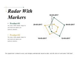 Radar With Markers Ppt Sample Presentations