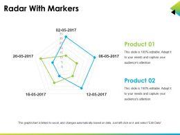 radar_with_markers_sample_of_ppt_presentation_Slide01
