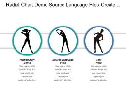 Radial Chart Demo Source Language Files Create Flowchart