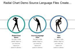 Radial Chart Demo Source Language Files Create Flowchart