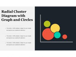 Radial Cluster Diagram With Graph And Circles