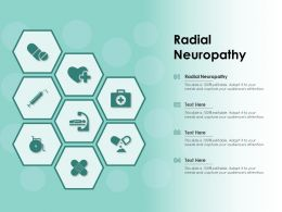 Radial Neuropathy Ppt Powerpoint Presentation Infographic Template Slide