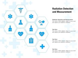 Radiation Detection And Measurement Ppt Powerpoint Presentation Outline Example Topics