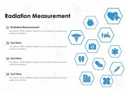 Radiation Measurement Ppt Powerpoint Presentation Pictures Good