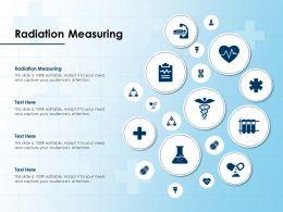 Radiation Measuring Ppt Powerpoint Presentation Model Demonstration
