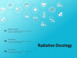 Radiation Oncology Ppt Powerpoint Presentation Model Background Images