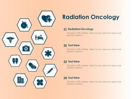Radiation Oncology Ppt Powerpoint Presentation Summary Template