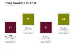 Radio Television Internet Ppt Powerpoint Presentation Icon Images Cpb