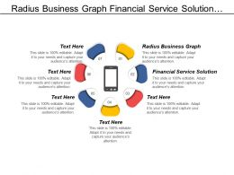 Radius Business Graph Financial Service Solution Marketing Advertising Cpb