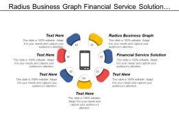Radius Business Graph Financial Service Solution Marketing Advertising Cpb