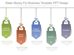 Raise Money For Business Template Ppt Design