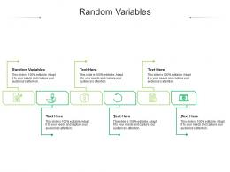 Random Variables Ppt Powerpoint Presentation Pictures Information Cpb