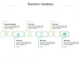 Random Variables Ppt Powerpoint Presentation Visual Aids Show Cpb