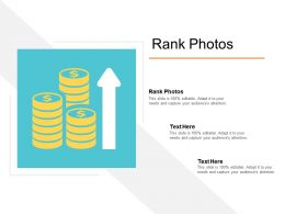 Rank Photos Ppt Powerpoint Presentation Gallery Themes Cpb