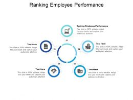 Ranking Employee Performance Ppt Powerpoint Presentation Infographic Template Infographics Cpb