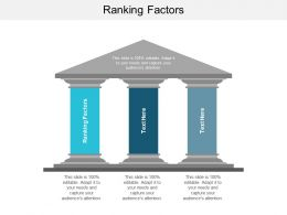 Ranking Factors Ppt Powerpoint Presentation Infographic Template Background Images Cpb