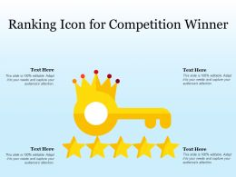 Ranking Icon For Competition Winner
