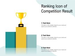 Ranking Icon Of Competition Result