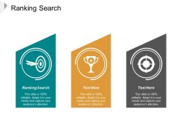 Ranking Search Ppt Powerpoint Presentation Slides File Formats Cpb