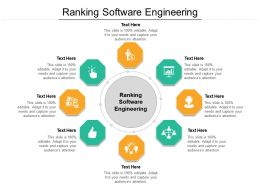 Ranking Software Engineering Ppt Powerpoint Presentation Pictures Designs Download Cpb