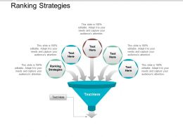 Ranking Strategies Ppt Powerpoint Presentation Infographic Template Infographics Cpb