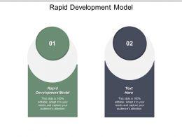 Rapid Development Model Ppt Powerpoint Presentation Infographic Template Graphics Cpb