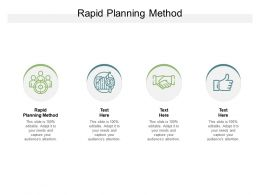 Rapid Planning Method Ppt Powerpoint Presentation Gallery Outline Cpb