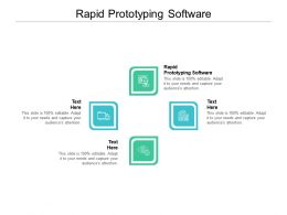 Rapid Prototyping Software Ppt Powerpoint Presentation Model Pictures Cpb