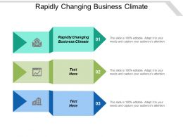 Rapidly Changing Business Climate Ppt Powerpoint Presentation Ideas Format Cpb