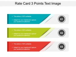 Rate Card 3 Points Text Image