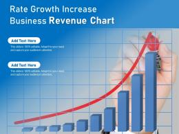 Rate Growth Increase Business Revenue Chart