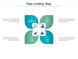Rate Limiting Step Ppt Powerpoint Presentation Infographic Template Design Cpb